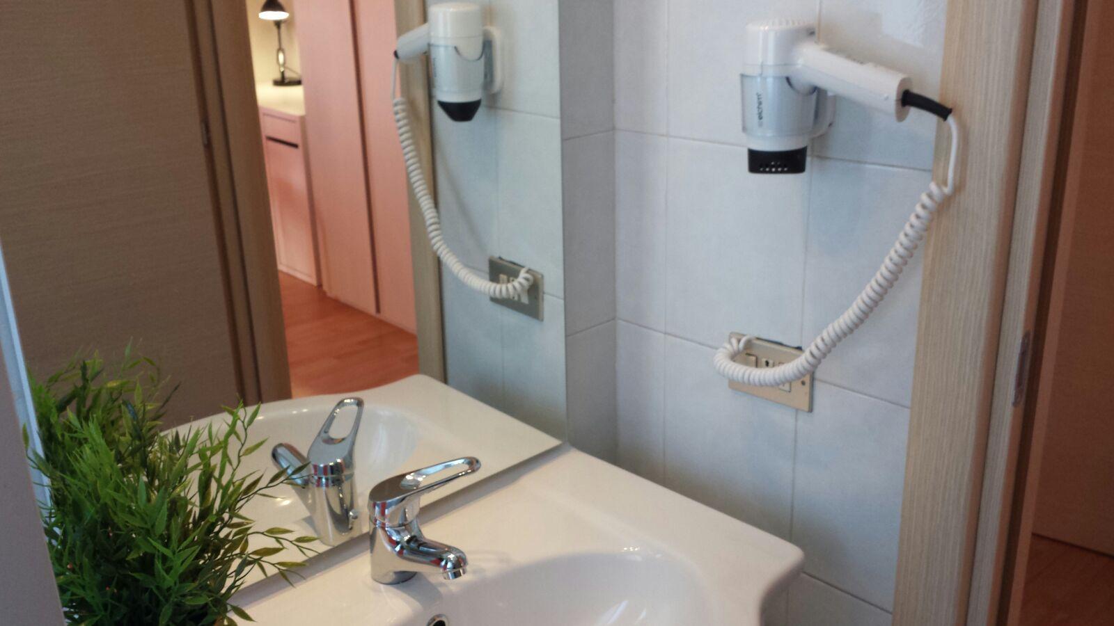 Stanza B - bagno privato dettaglio