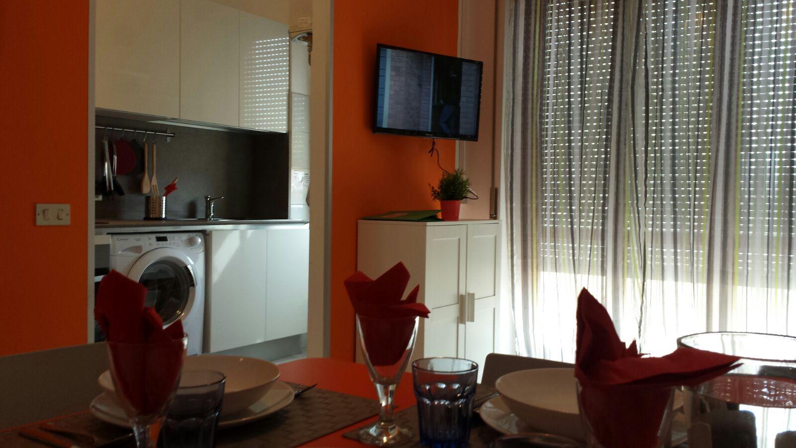 Cucina e zona TV