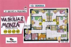 Piantina - StanzaMonza Via Sicilia