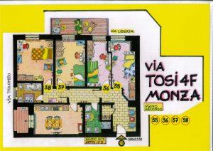 StanzaMonza - via Tosi