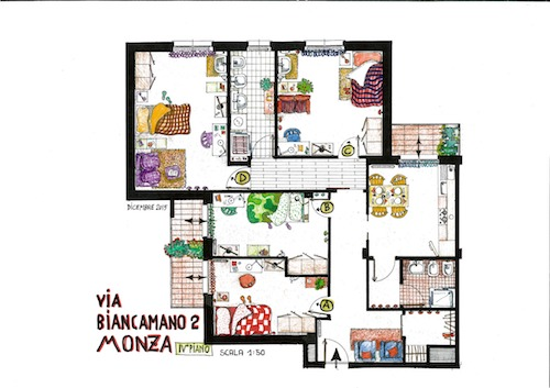 Via Biancamano – Stanze 13-16