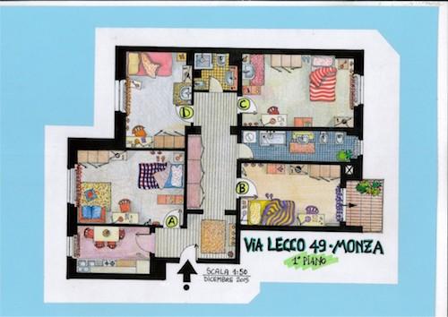Via Lecco 49  Stanze 9-12