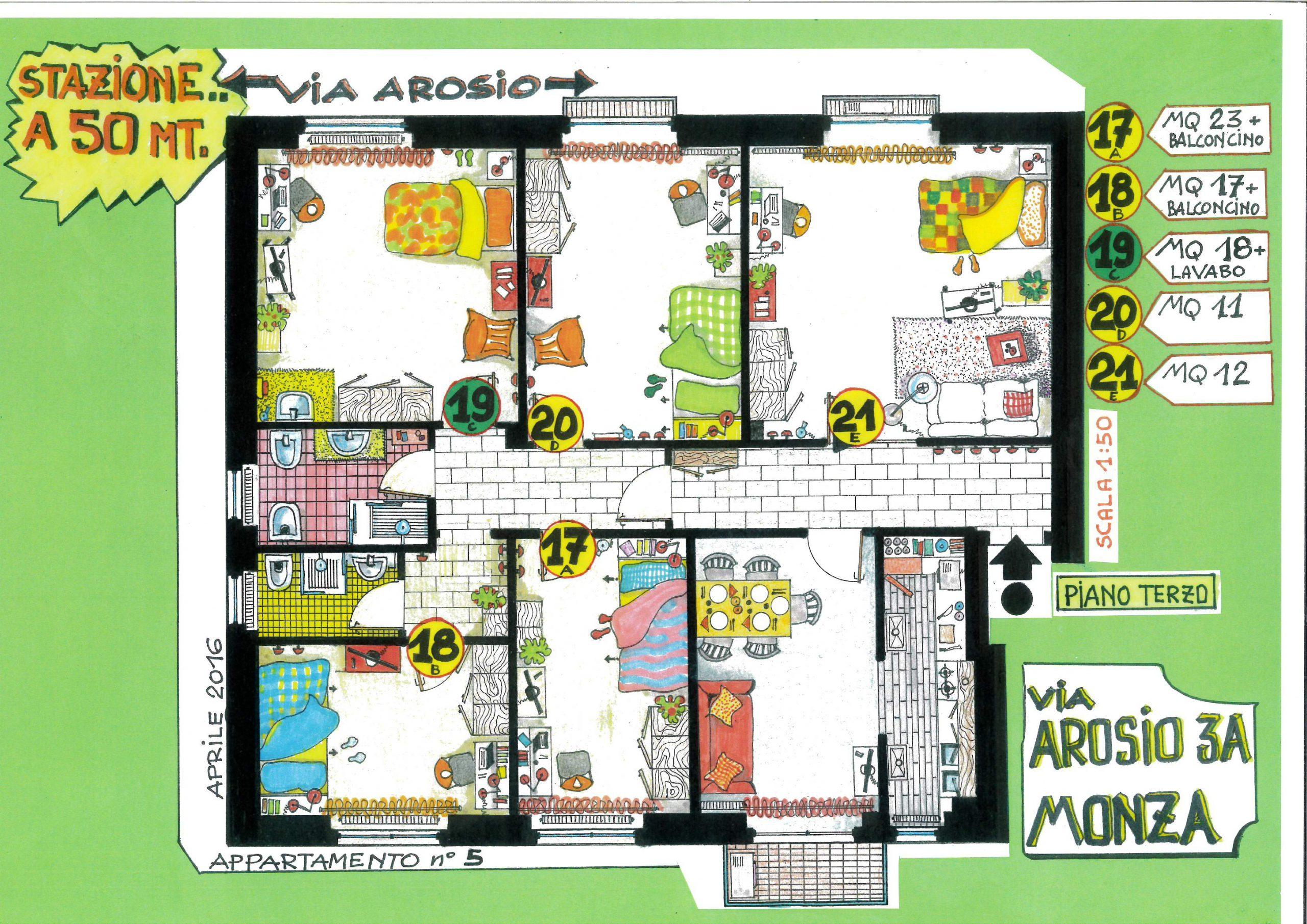 Clicca qui per vedere la piantina dell'appartamento